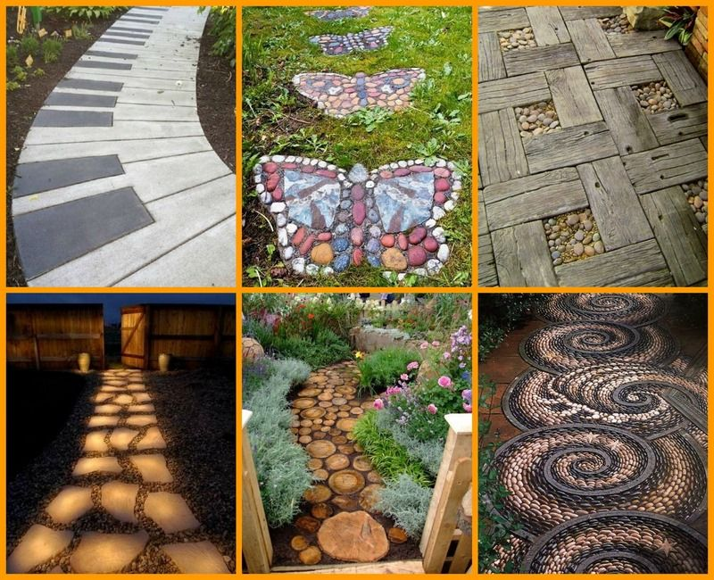 garden paths easy. #8 is beautiful and easy to make! find a garden path for your backyard paths