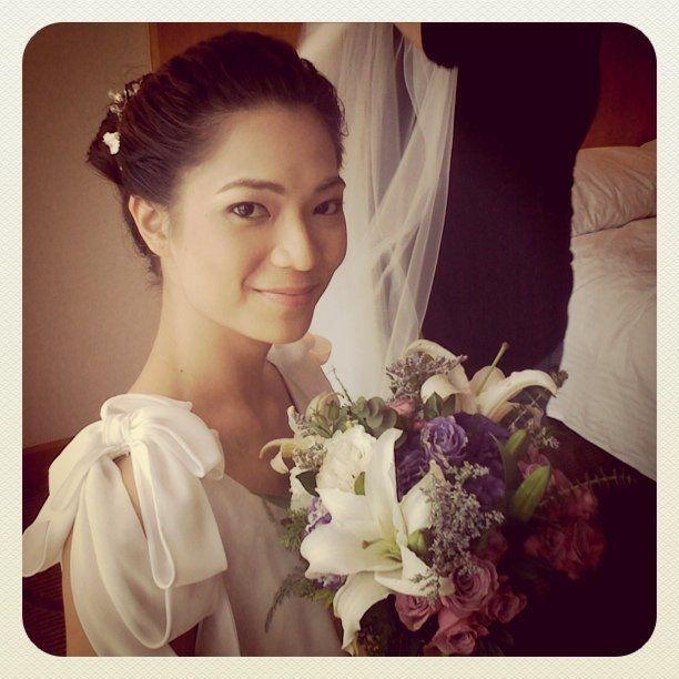 Xai Cunanan, Feb. 26, 2011 bride. Makeup by Jasmine Mendiola