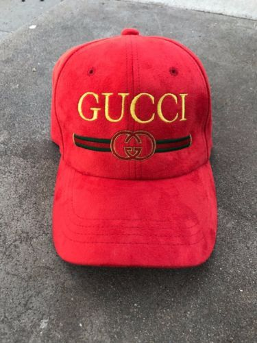 f235c6885075 1990-039-s-Vintage-Bootleg-Gucci-Suede-Hat
