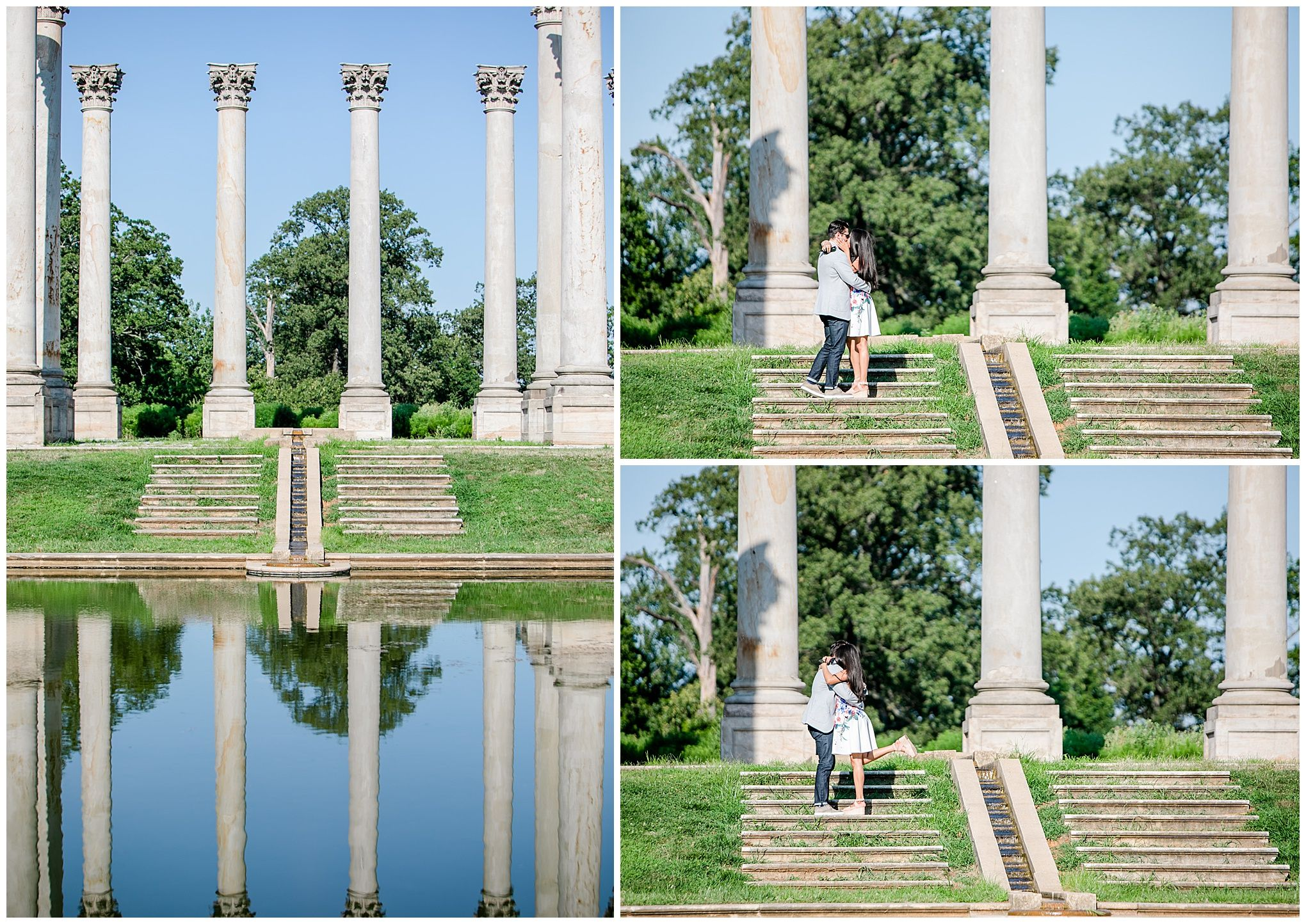National Arboretum Proposal Showit Blog Proposal Photographer Proposal Photos Marriage Proposals