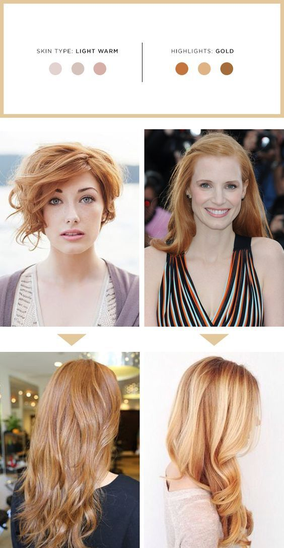 The Best Highlights For Your Hair And Skin Tone Golden Blonde