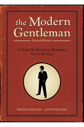 Book on being a gentleman