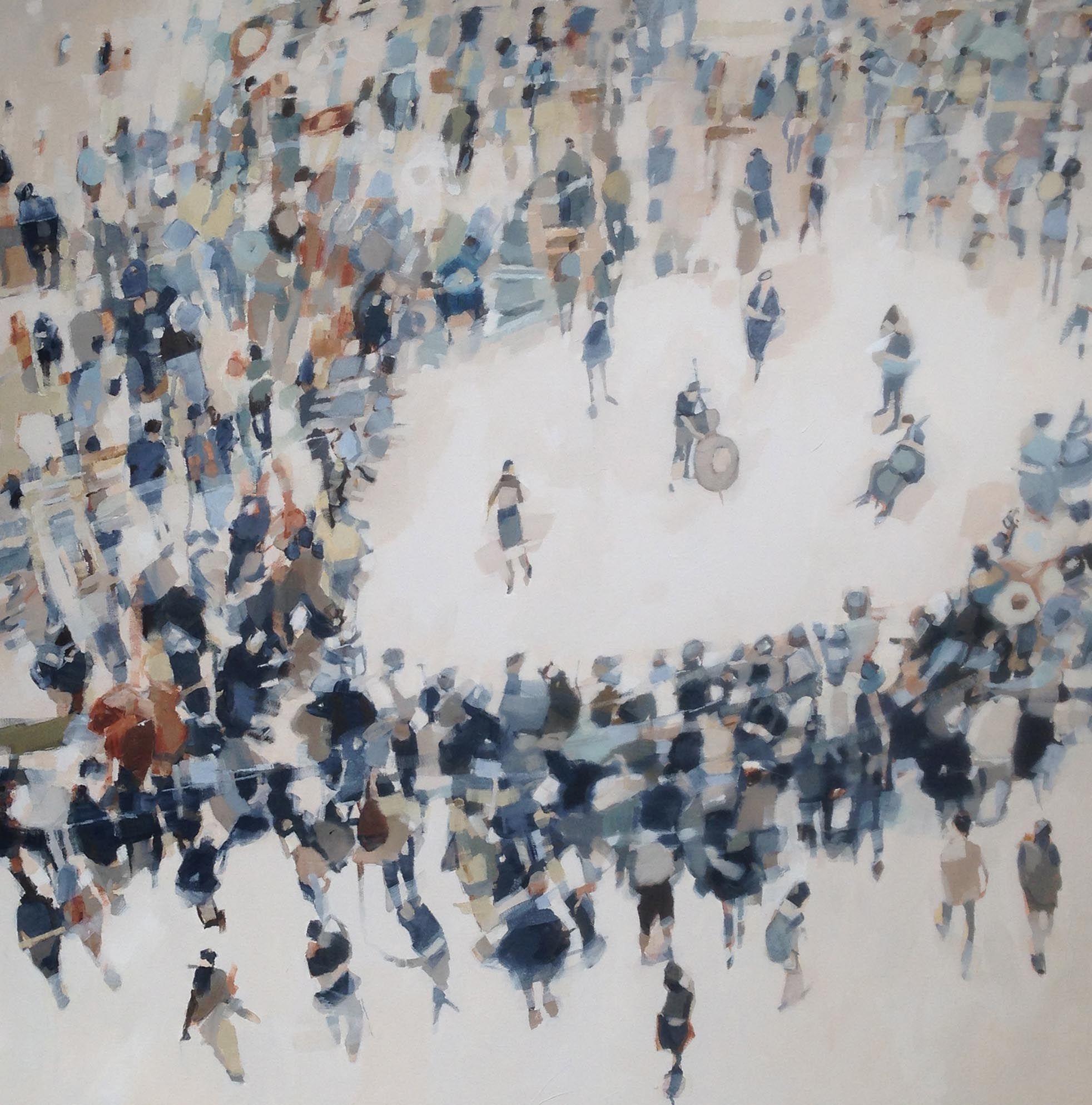 Caroline Yates An Audience Oil on canvas © Artist