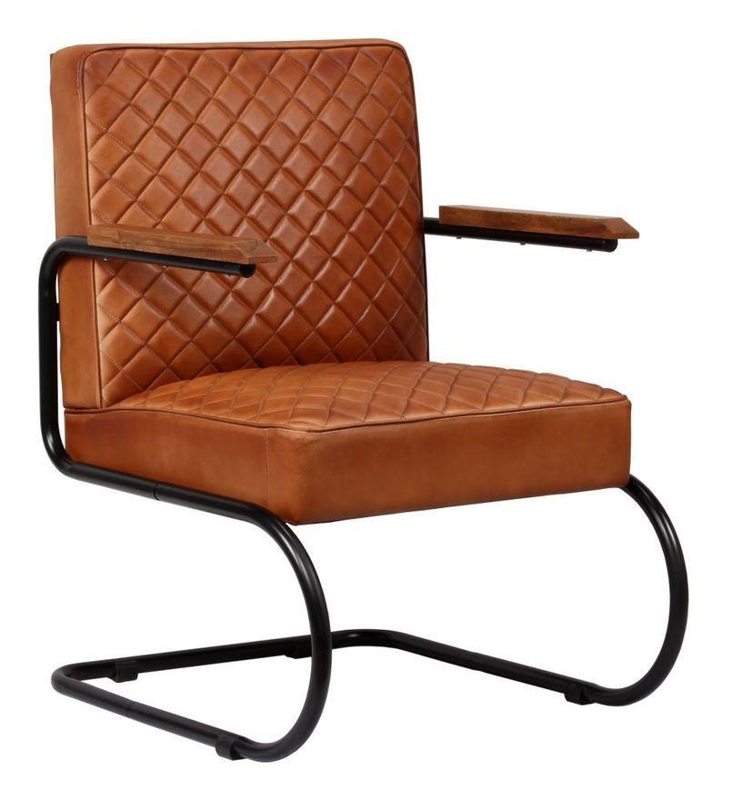 Fauteuil chaise siège lounge design club sofa salon cuir