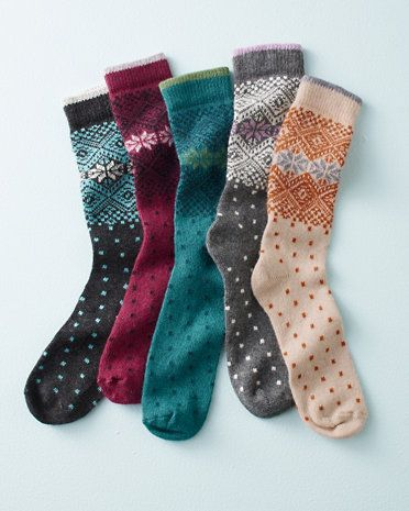 b.ella Alpine Flurries Crew Socks