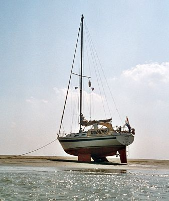 Westerly Discus 33, twin keel, great for sailing in area