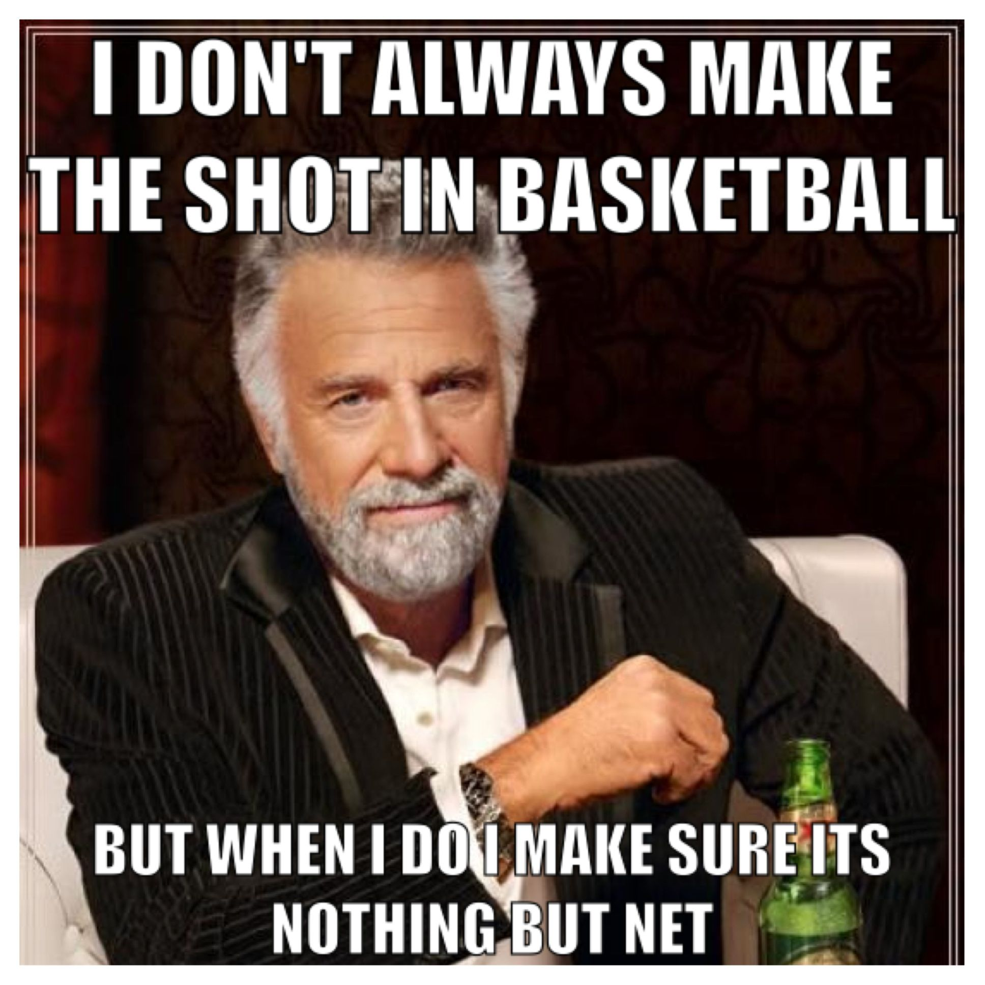 Funny Pictures Of Nba Players With Quotes: I Don't Always But When I Do Quote Funny Basketball Quote