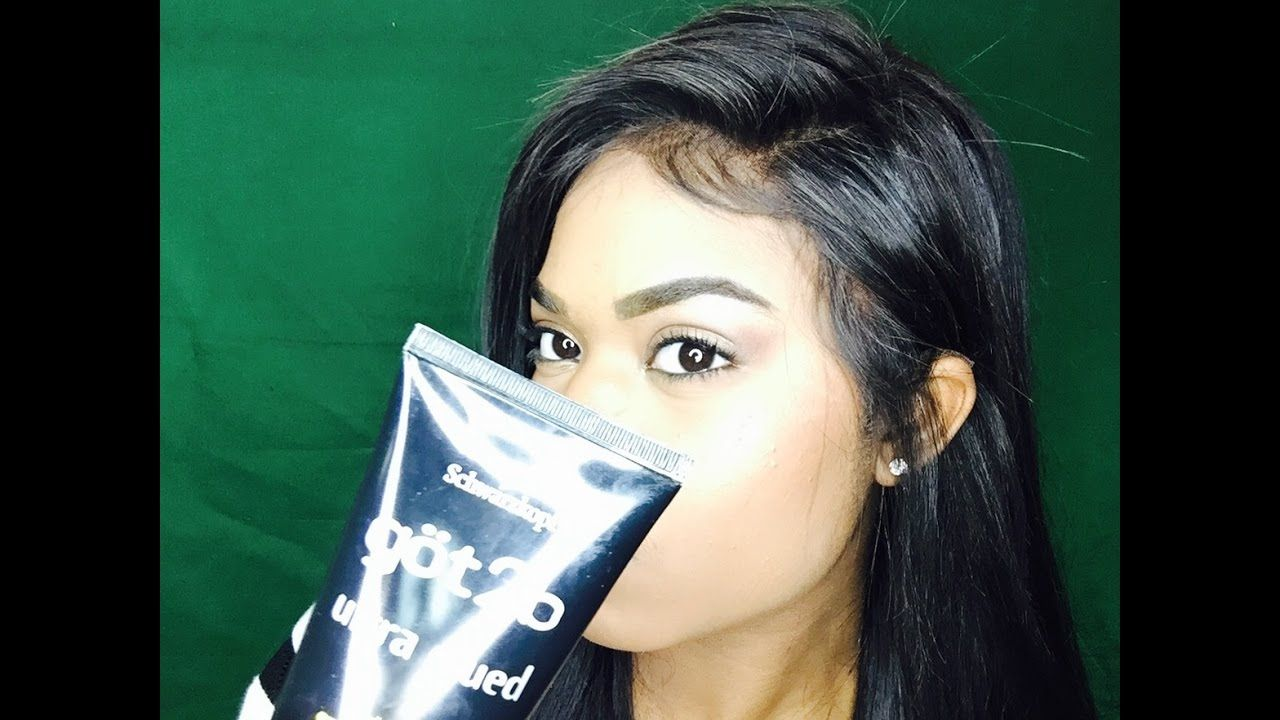 HOW TO SECURE A LACE FRONTAL WIG GOT2B GLUE Frontal