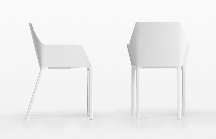 Sedie Moderne In Plastica.Sedia Con Braccioli Mem Sedia Con Braccioli Sedia Design E Sedie