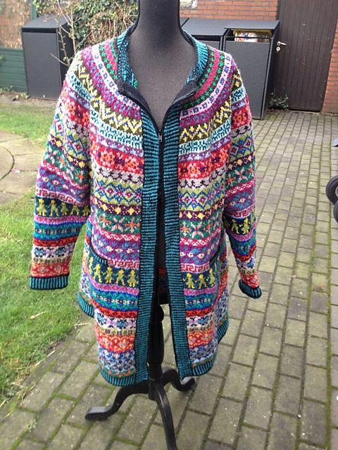 Ravelry: L33ntj3's Leftover-jacket
