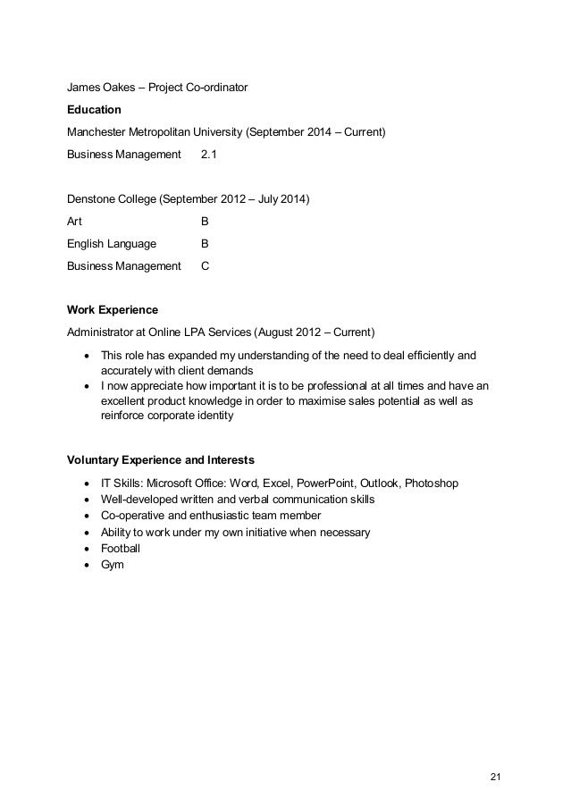 James Oakes \u2013 Project Co-ordinator Education Manchester Metropolitan - excel spreadsheet compare office 2016