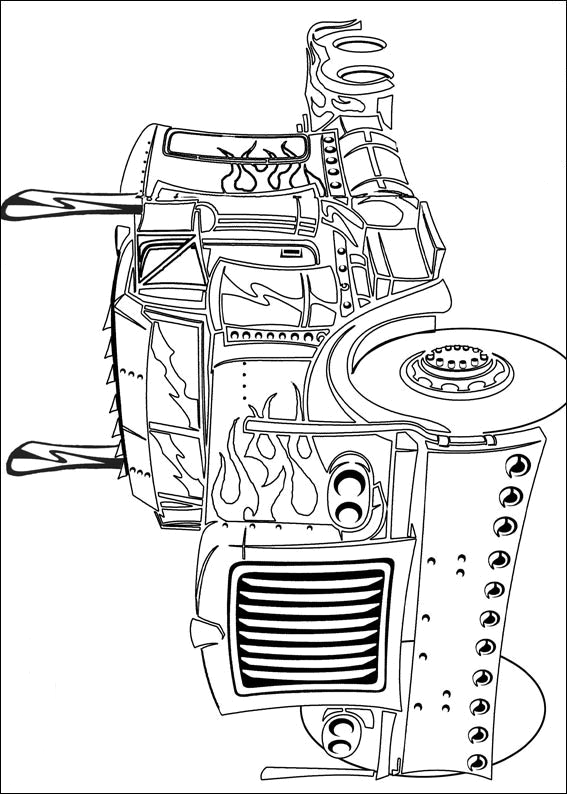 optimus prime coloring pages printable | Transformers Coloring Pages | Movies and TV Coloring Pages ...