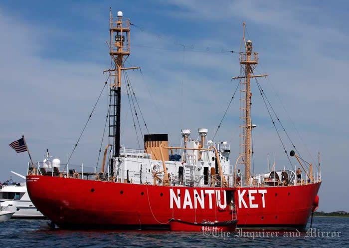 Nantucket Lightship plays Super Bowl role