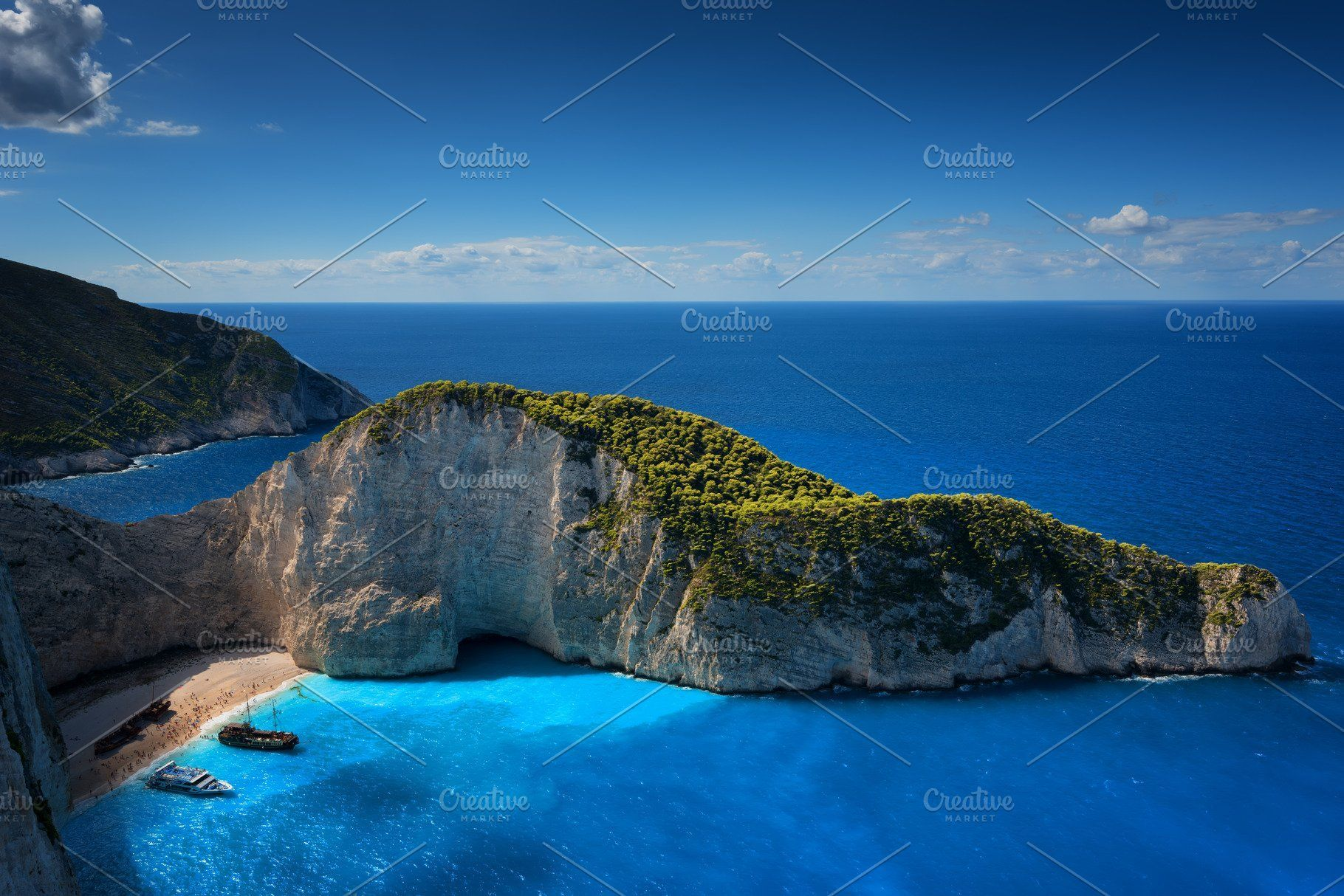 Ship Wreck Beach And Navagio Bay The Most Famous Natural Landmark Of Zakynthos Greek Island In T Holiday Travel Vacations Outdoors Adventure Summer Landscape