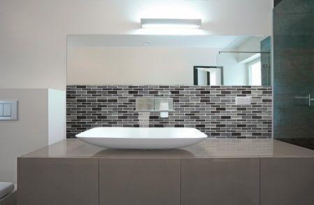 A040 08 Bathroom Splashback Tile Tile Bathroom Bathroom Tile Designs Splashback
