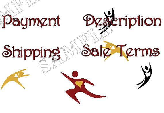 ebay website template graphic icons payment shipping. Black Bedroom Furniture Sets. Home Design Ideas