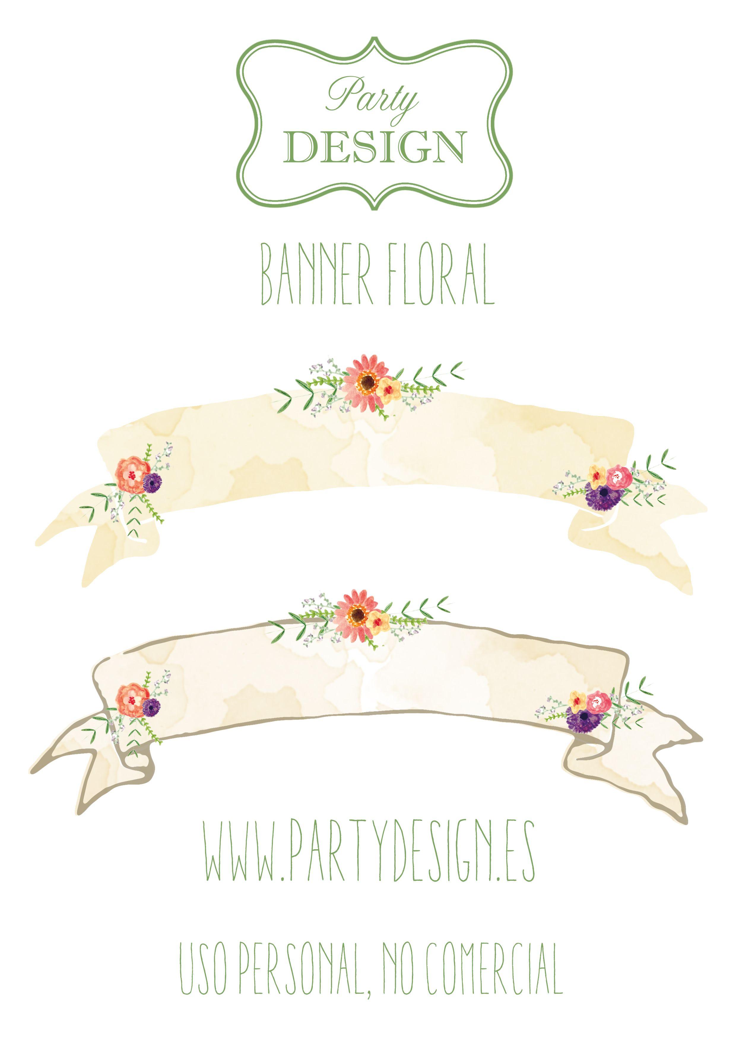 Descarga gratis banner para decorar tartas y pasteles Printable free ...