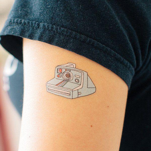 Instant Camera Camera Tattoos Tattoos Tattoos For Kids