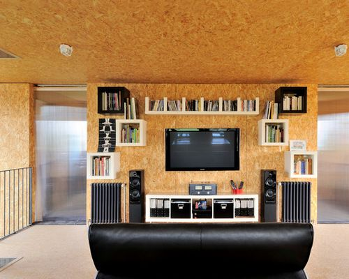 best osb plywood wall design ideas & remodel pictures | houzz