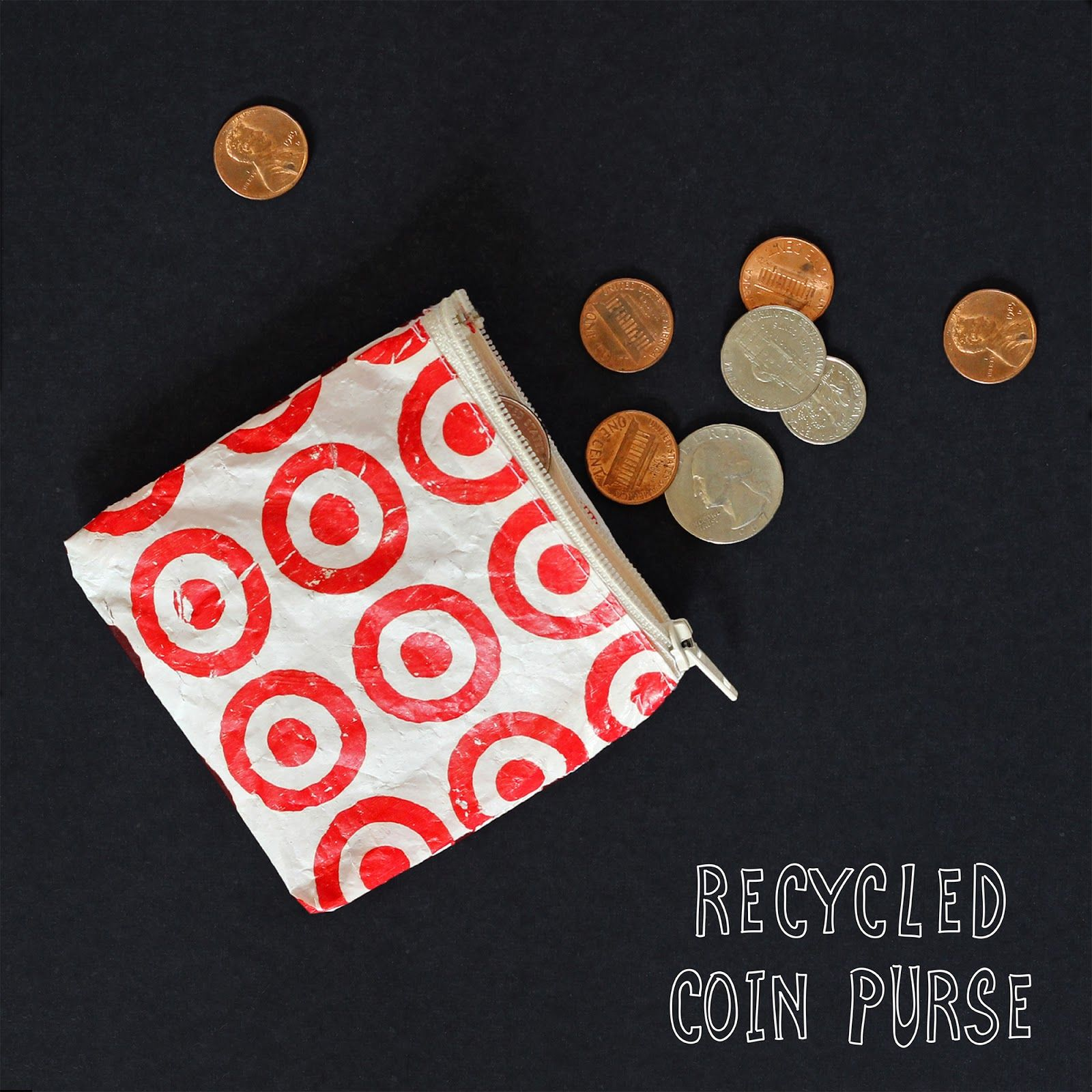 Upcycle plastic bags into a coin purse with we can make for Craft plastic