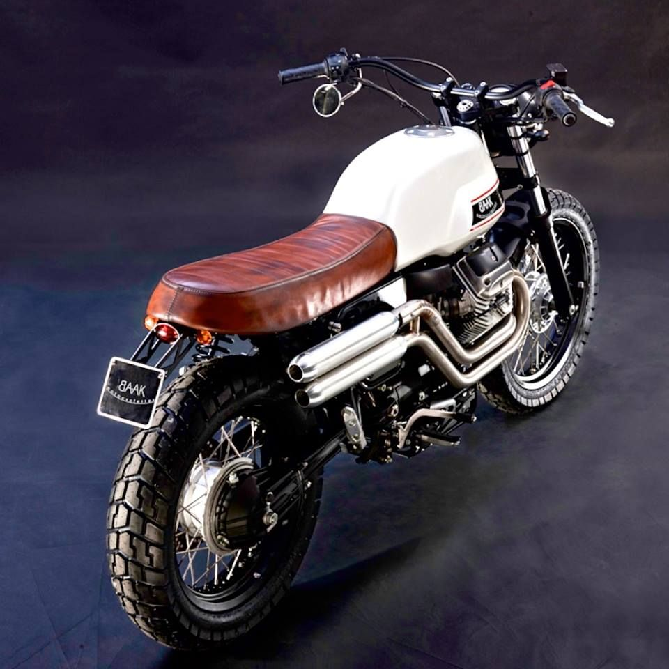 Photo of Moto Guzzi V7 Scrambler by BAAK Motorcycles                 …