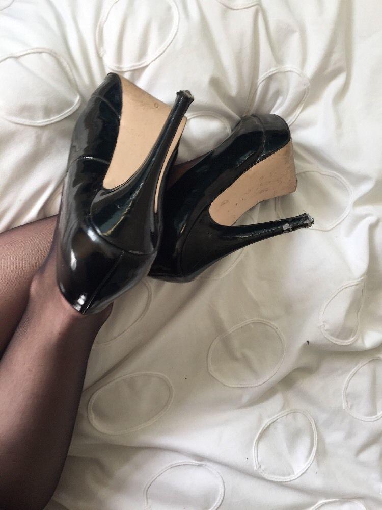 Well worn high heels