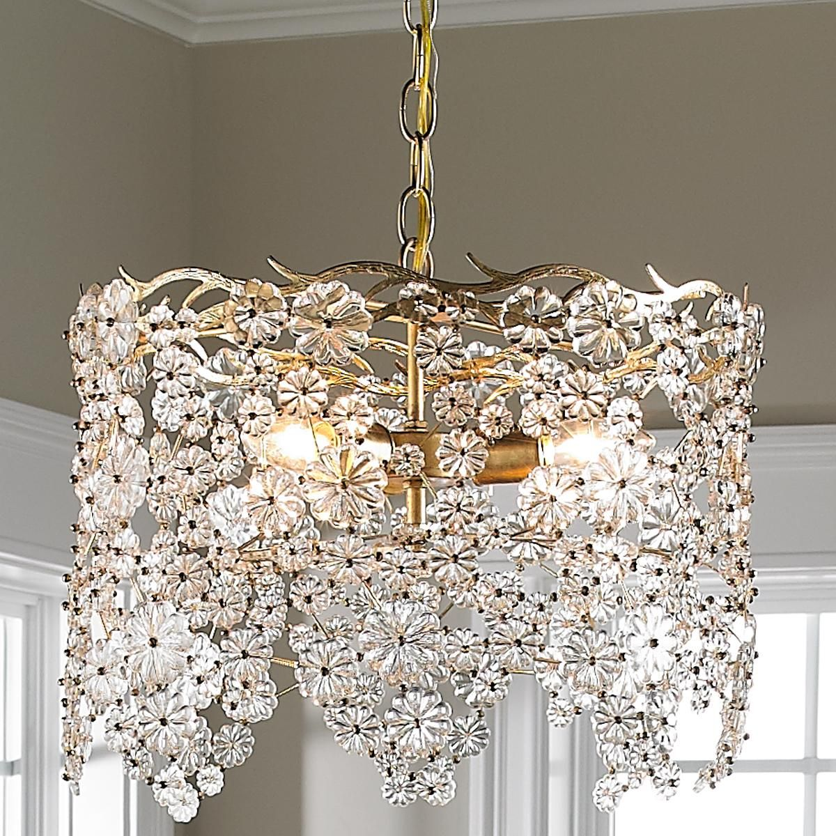 Glass lace drum chandelier drum chandelier drums and chandeliers glass lace drum chandelier arubaitofo Choice Image