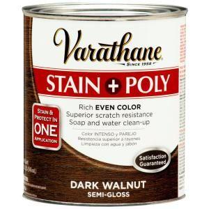Varathane Dark Walnut Stain Polyurethane 266159 At The Home Depot