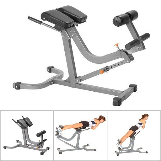 Lovely 45° Hyperextension Bench U0026 90° Roman Chair All In One   AmStaff TS014  Adjustable