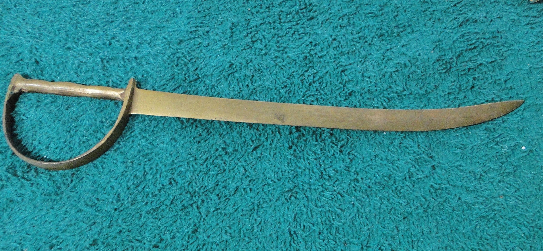 Pure Brass Sword Letter Opener IV