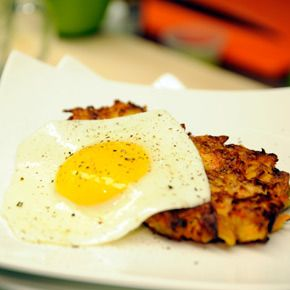 Daphne whipped up this simple and tasty breakfast with ingredients she found in Feeding America pantry.