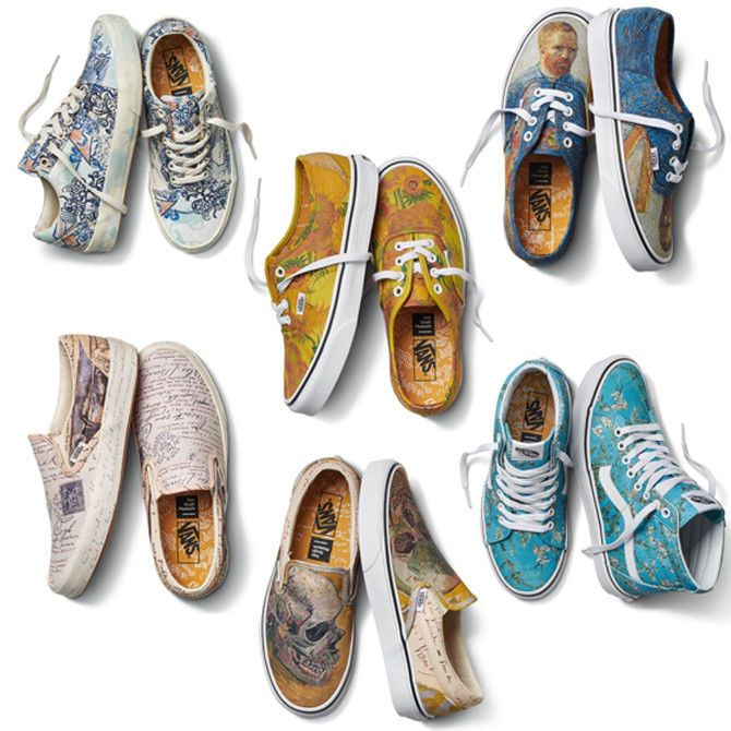 89707899e187 Vans x Vincent Van Gogh Museum Authentic Slip-On SK8-Hi Old Skool Shoes  Pick 1  VANS  Skateboarding Find great deals for VANS X Vincent Van Gogh  Museum ...