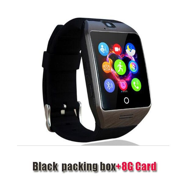 Free Shipping New Q18 Passometer Smart Watch With Touch