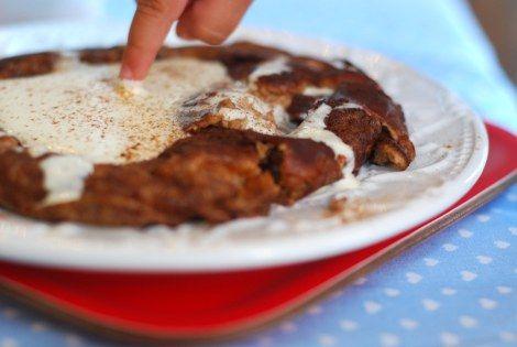 Omelete de canela sem carboidratos 2
