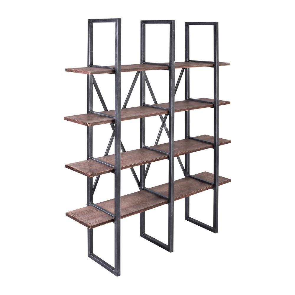 Today S Mentality Lauder Rustic Pine Wood Bookshelf Wood Bookshelves Rustic Furniture Stores Italian Bedroom Furniture