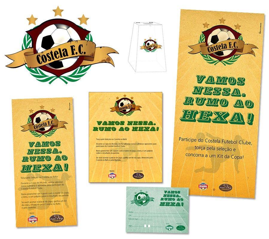Costela Futebol Clube - Ação chama amantes do futebol para se encontrarem no Costela no Bafo durante a Copa