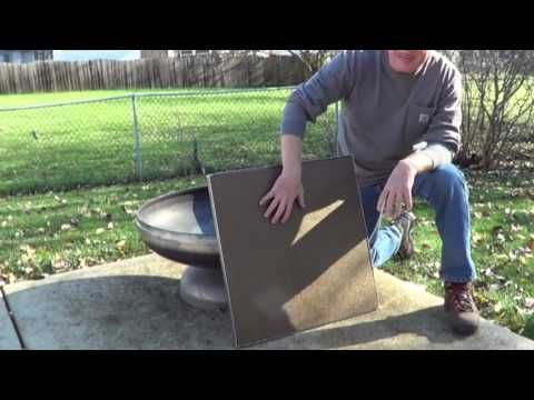 Deck Protect For A Concrete Deck Fireproof Mat Concrete Deck Concrete Deck