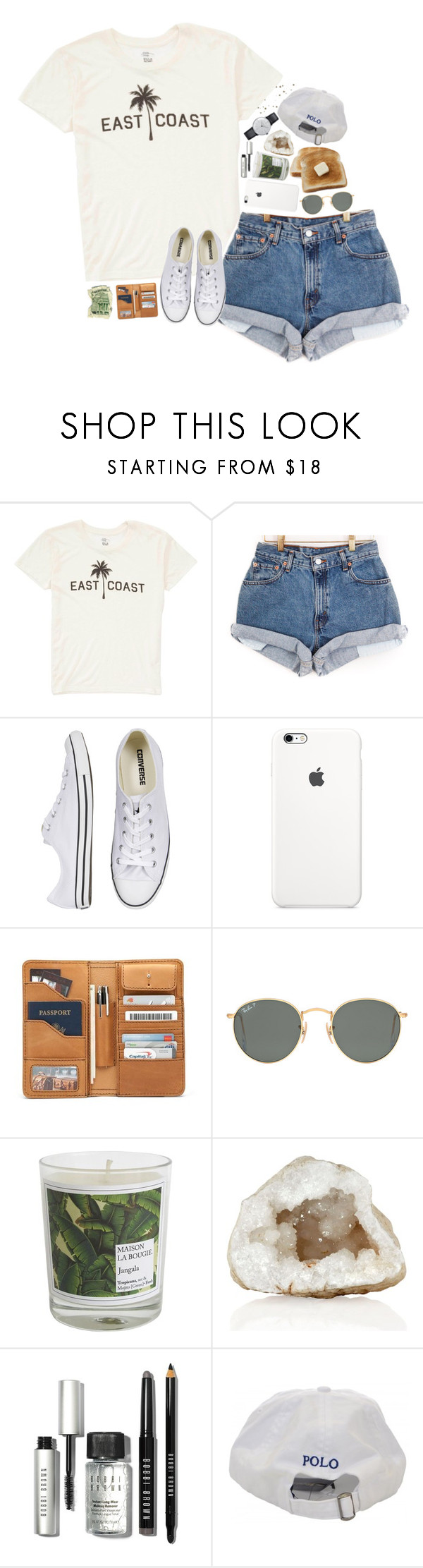 """""""Untitled #2515"""" by sisistyle ❤ liked on Polyvore featuring Billabong, Converse, Ray-Ban, Maison La Bougie, Bobbi Brown Cosmetics and Klein & more"""
