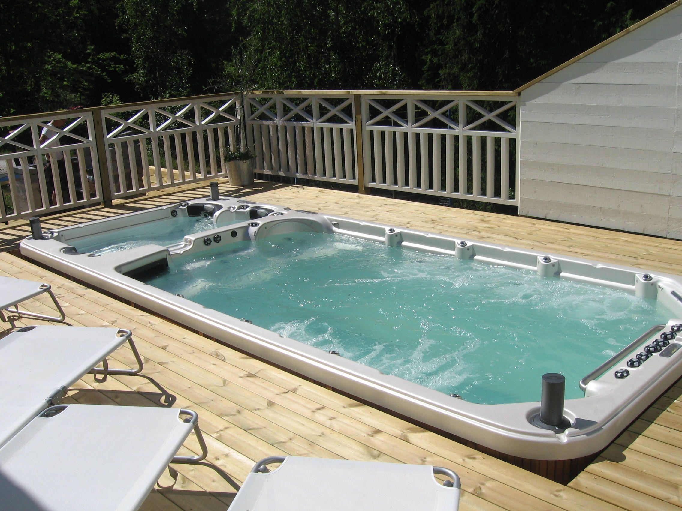 Inground swim spa Swim Spas Pinterest