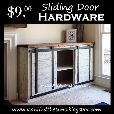 A New Cheaper Way To Do Sliding Doors On Furniture Diy Sliding Door Home Diy Barn Door
