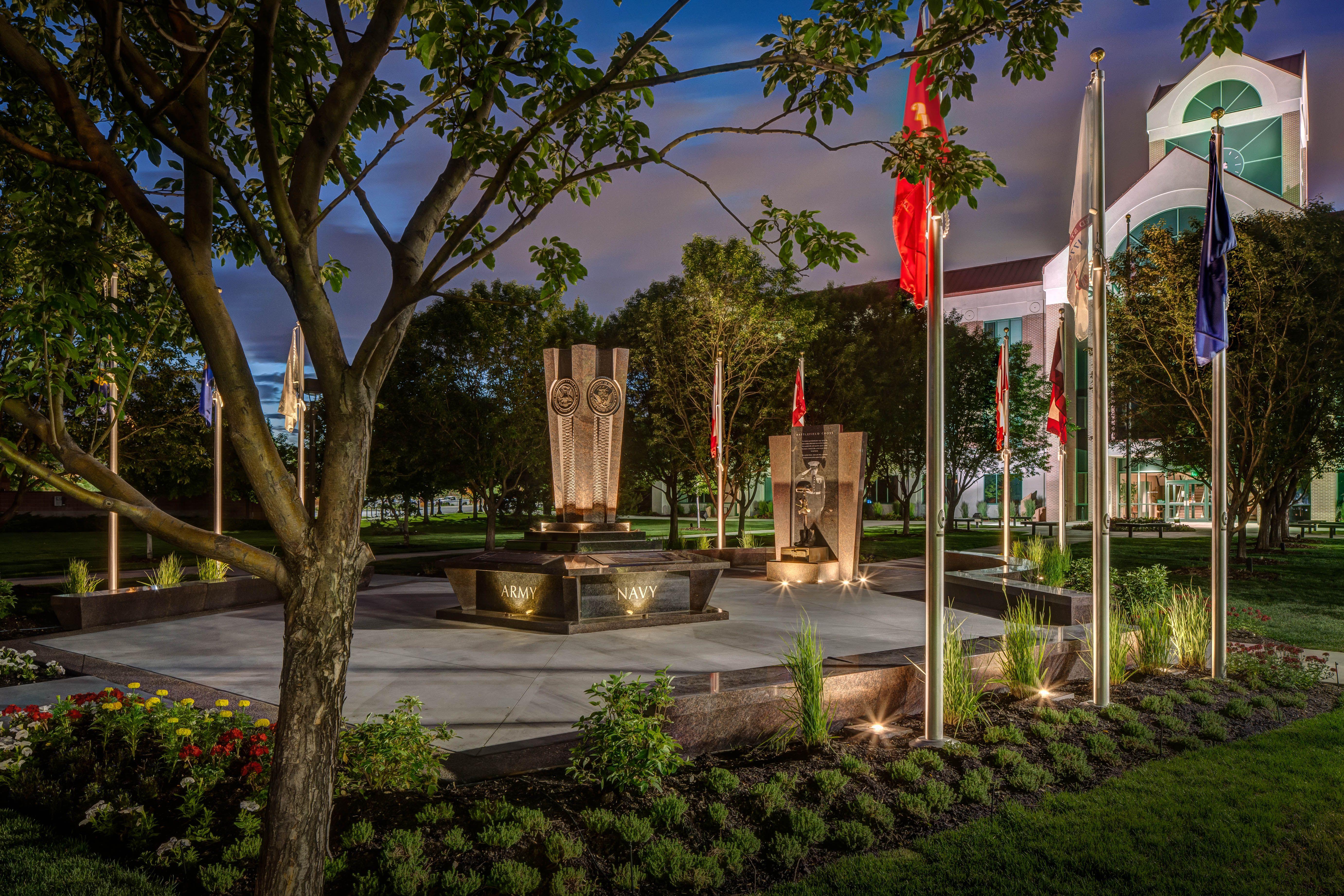Landscape Lighting Pro of Utah is honored to provide the landscape lighting for the Utah Freedom Memorial. & Utah Freedom Memorial | Commercial Lighting Properties | Pinterest ... azcodes.com
