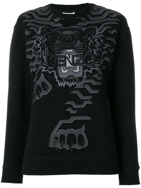 3b2063a440 Kenzo Geo Tiger sweatshirt   Clothes   Sweatshirts, Kenzo, Sweaters