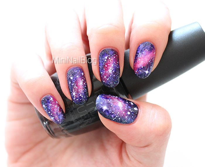 Galaxy Nail Design by Nailbees - Galaxy Nail Design By Nailbees Nail Art Pinterest Galaxy