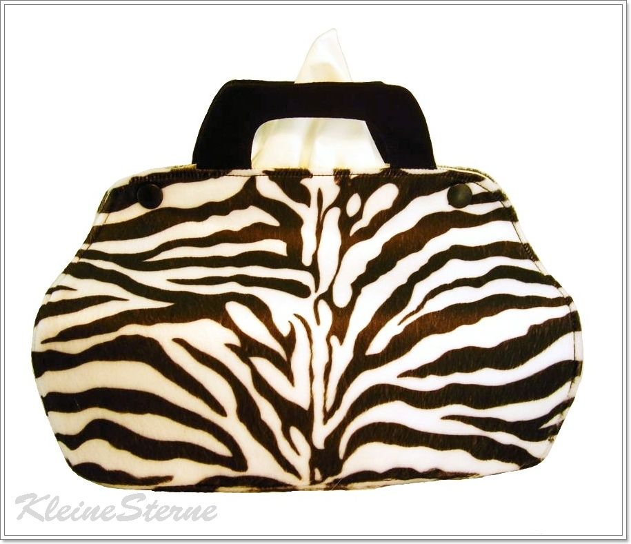 Zebra Handtasche Bezug F 252 R Taschentuchbox Shoes