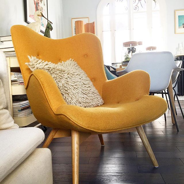 Fauteuil salon salon en 2019 fauteuil salon fauteuil jaune et fauteuil salon design - Fauteuils salon design ...