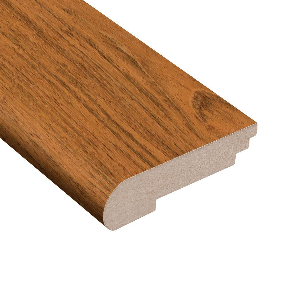 Jatoba Natural Dyna 3/8 in. Thick x 3-1/2 in. Wide x 78 in. Length Hardwood Stair Nose Molding, Brown