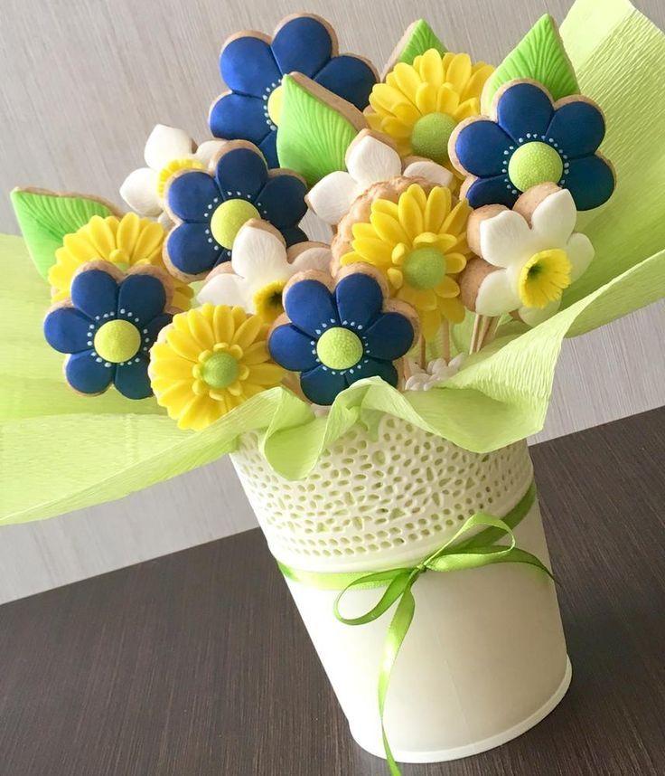 Cookie Bouquet | Galletas | Pinterest | Cookie bouquet, Cookie ...