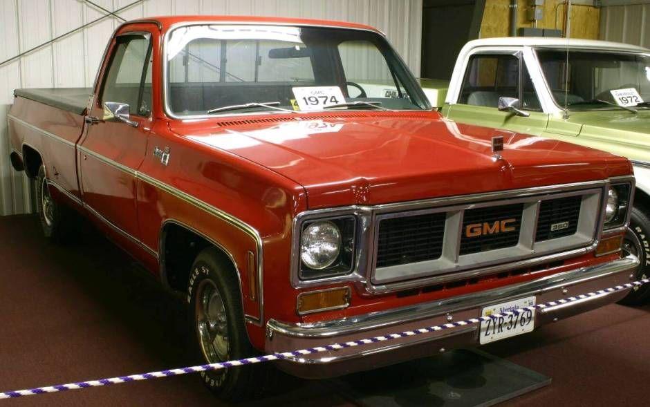 1974 Trucks 1974 Gmc Pickup Gmc Vehicles Gmc Trucks Gmc