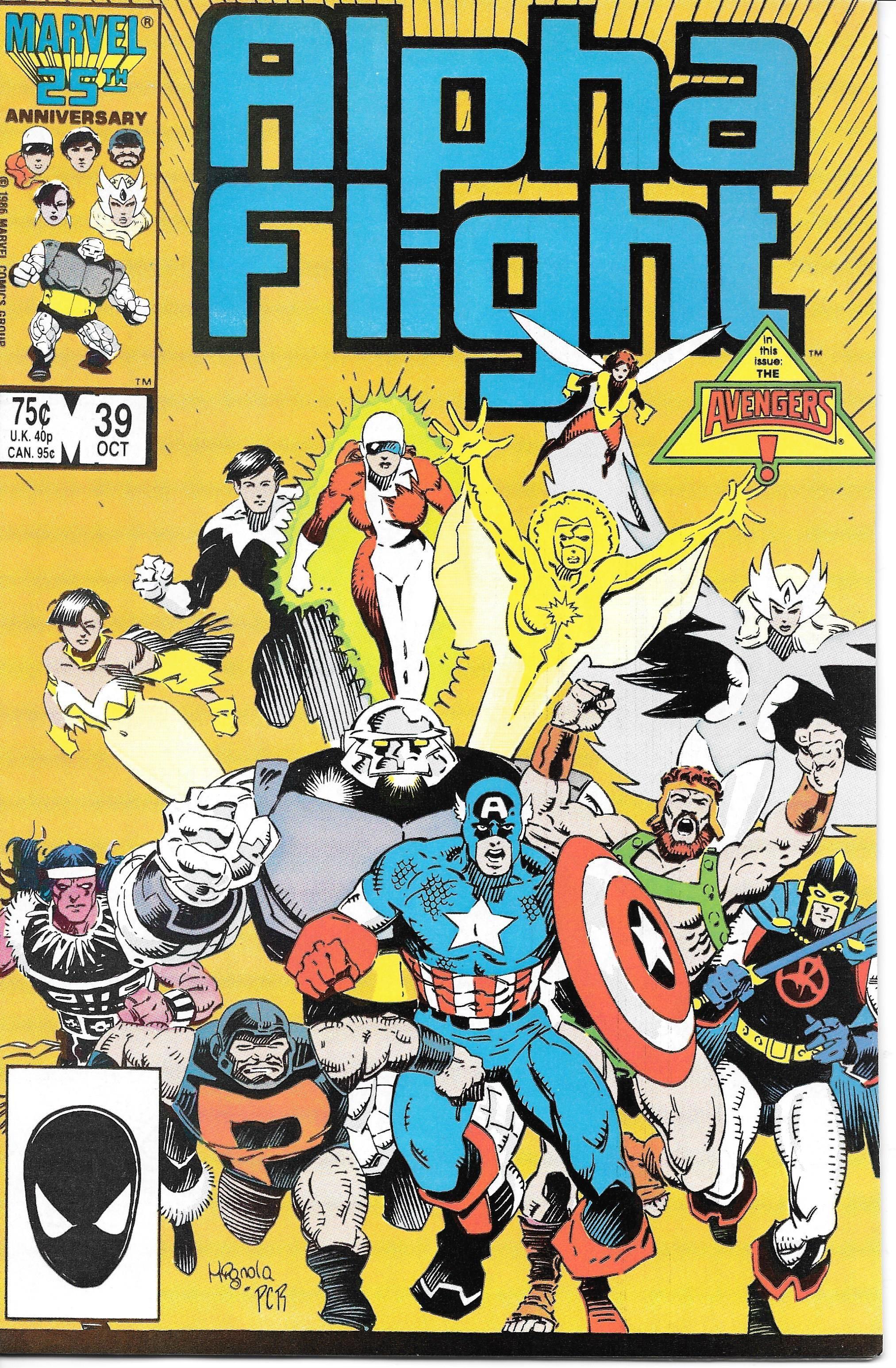 Alpha Flight 39 Alpha Flight Best Comic Books Comics