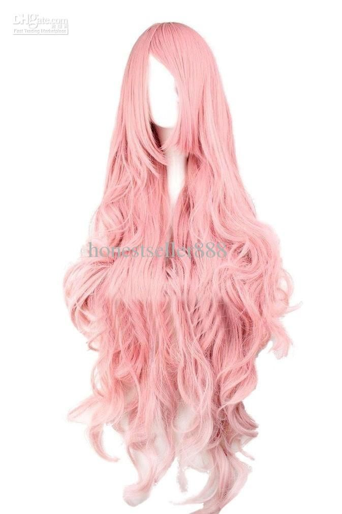 Vocaloid Megurine Luka Cosplay Party Wig--perfect for Fluttershy!